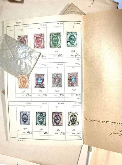Lot de timbres en vrac