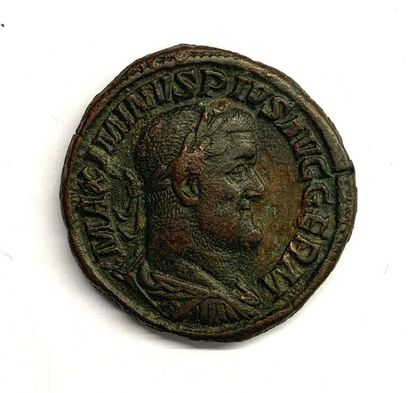 Trace – Maximin Ier  Sesterce  Bronze  A...
