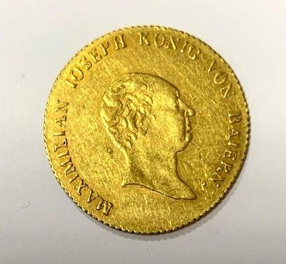 Bavière – Maximilian Ioseph  Un Ducat or...