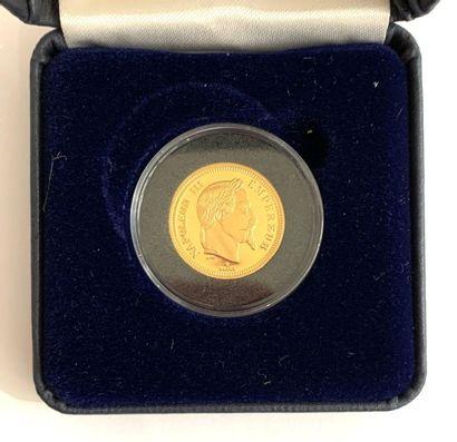 France – Médaille  Une médaille copie d'une...