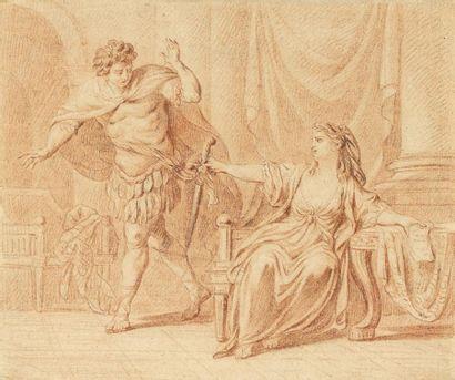 Nicolas-René JOLLAIN (Paris 1732 - 1804)...