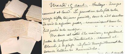 LOTI Pierre. Journal, 1872-1918. Manuscrit...