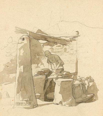 Jean-Léon GEROME (Vesoul 1824 - Paris 1904)...