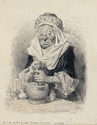 Gustave DORE (Strasbourg 1832 - Paris 1883)...