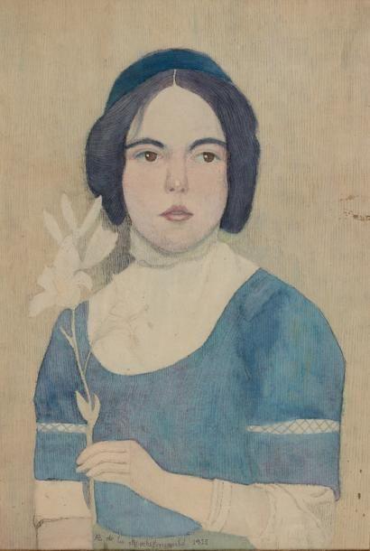 Comtesse Antoine de la ROCHEFOUCAULT (Ecole...