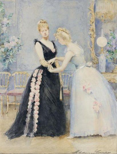 Madeleine LEMAIRE (Ares 1845 - Paris 1928)...