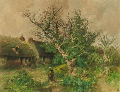 Louis Adolphe HERVIER (Paris 1818 - 1879)...