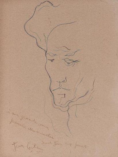 Jean COCTEAU (Maisons-Laffitte 1889 - Milly-la-forêt...