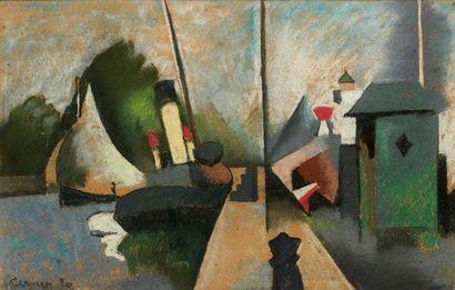 Paul Elie GERNEZ (Valenciennes 1888 - 1948)...