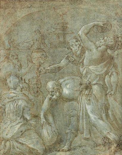 Attribué à Giulio CAMPI (Crémone 1502 -...