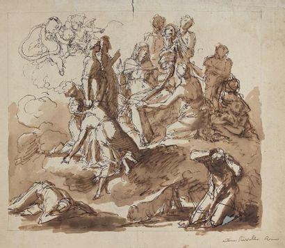 Antoine RIVALZ (Toulouse 1667 - 1735) Allégorie...