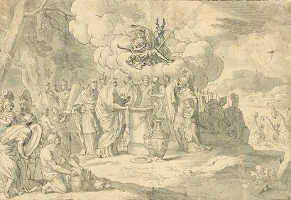 Attribué à Bernard PICART (Paris 1673 -...
