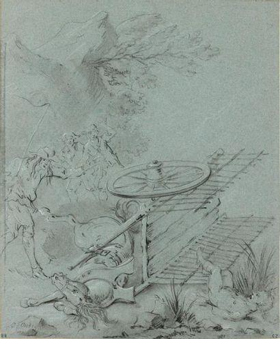 Jean-Baptiste OUDRY (Paris 1686 - Beauvais...