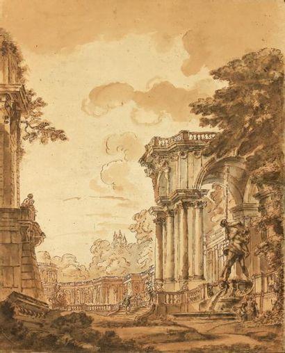 Juste Nathan BOUCHER (Paris 1736 - 1782)...