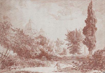 Hubert ROBERT (Paris 1733 - Paris 1808)...