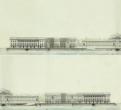 Louis COMBES (1757-1818) Projet du monument...