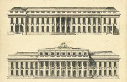 Agence de Claude Nicolas LEDOUX (1735-1806)...