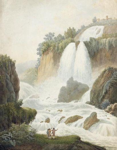 LIGER (Ecole française ou suisse vers 1800)...