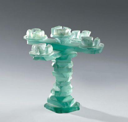 Marco DE GUELTZ (1958-1998) Beau chandelier...