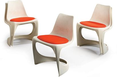 Steen OSTERGAARD Cinq chaises Cantilever...