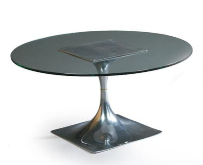 Roger TALLON Table basse à piétement en...