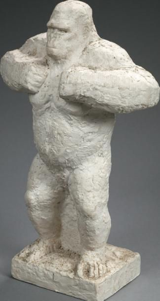 Jean JOACHIM (1905 - 1990) Gorille Sculpture....