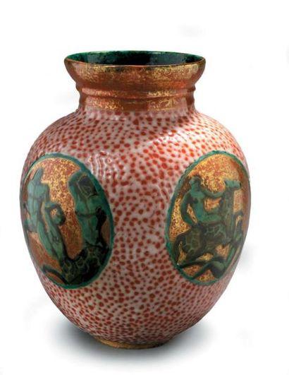 Jean MAYODON (1893 - 1967) Important vase...