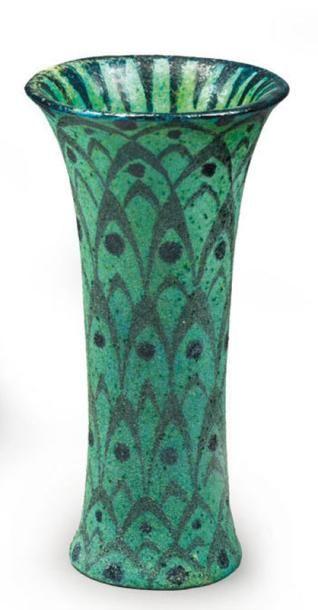 Félix MASSOUL (1872 - 1942) Vase en céramique...