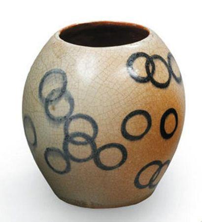 Francis JOURDAIN (1876 - 1958) Vase en céramique...