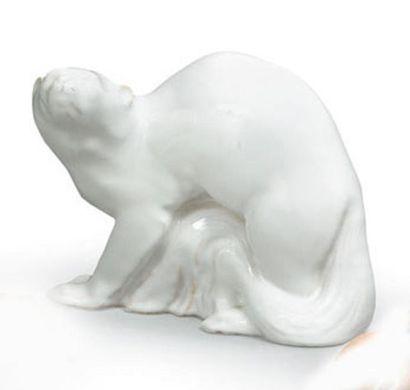 Manufacture Nationale de SEVRES Ours Sculpture...