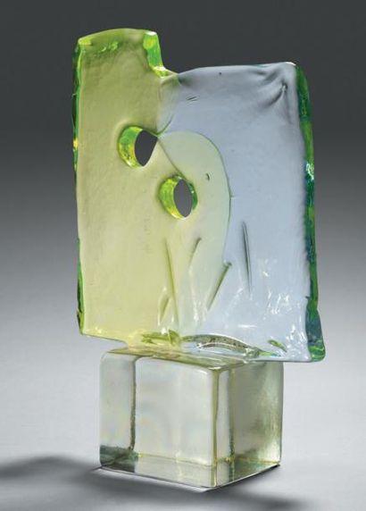 Livio SEGUSO (Murano) Sculpture en verre...