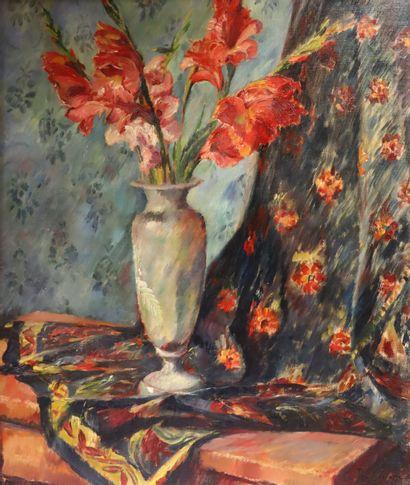 George ROCHEGROSSE (1859-1938)  Bouquet de...