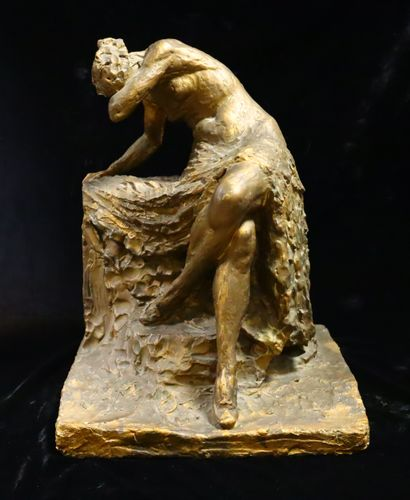 Attribué à Silvio MONFRINI (1894 -1869)  Femme...