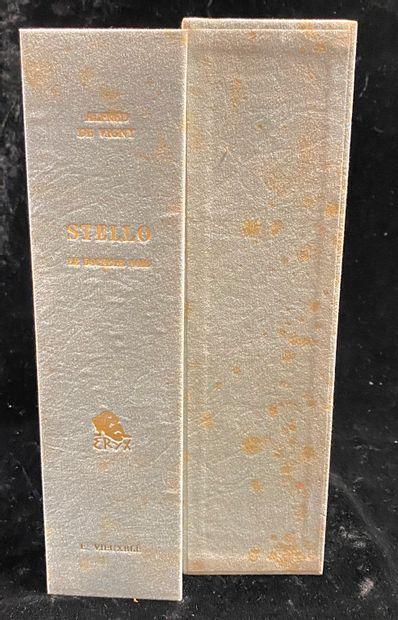 Alfred de VIGNY (1797-1863), Stello  Stello....