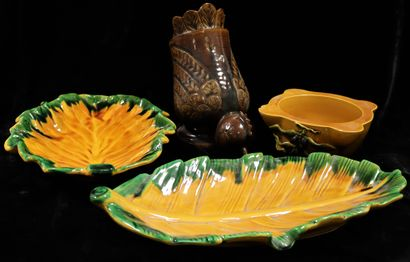 VALLAURIS  Set of Vallauris ceramics comprising...