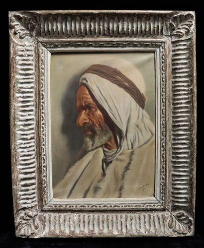 Luis ANGLADA PINTO (1873-1946) Portrait...