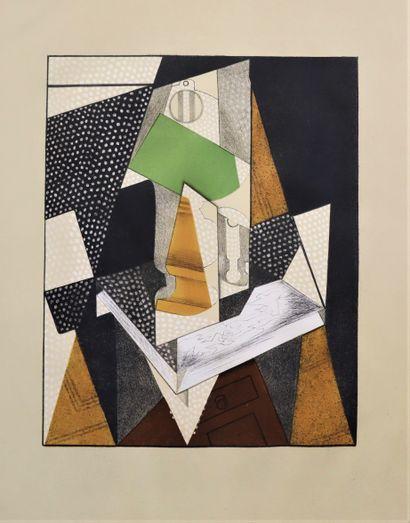 Juan GRIS (1887-1927), d'après  La lampe...
