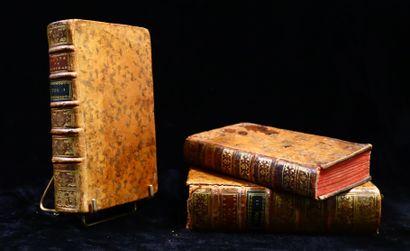 Set of three binders comprising :  - CUGNOT...