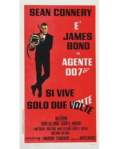Si Vive Solo Due Volte (On ne Vit Que 2 Fois / You Only Live Twice) James Bond 1967