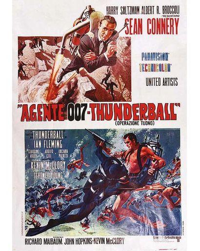 Agente 007 Thunderball ( Operazione Tuono) Operation Tonnerre 1965