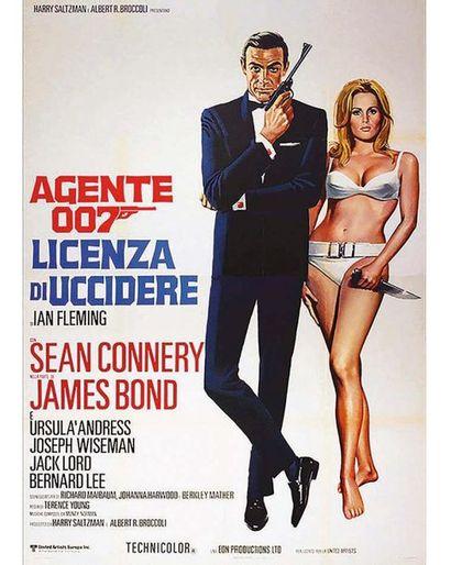 James Bond 007 Dr No Licienza De Uccudere 1962