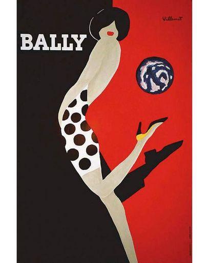 VILLEMOT BERNARD A. Karcher Aubervilliers  1 Affiche Non-Entoilée / Vintage Poster...