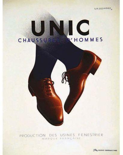 CASSANDRE A.M. Alliance Graphique Paris   Affiche entoilée/ Vintage Poster on Linnen...