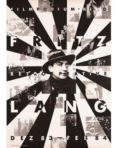BRÜHWILER PAUL Vintage Poster on Linnen T.B.E. A -  128 x 90 cm