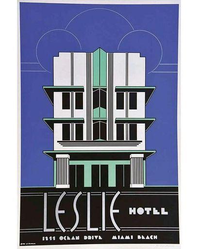 VONDRACEK W. Affiche entoilée/ Vintage Poster on Linnen T.B.E. A +  80 x 53 cm