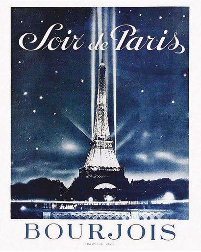 Bourjois Parfumeur Soir de Paris Tour Eifel 1955
