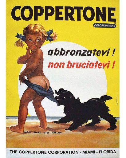 Coppertone vers 1980