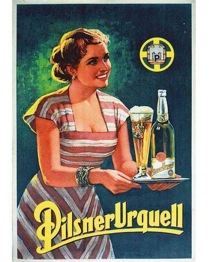 Pilsner Urquell vers 1950