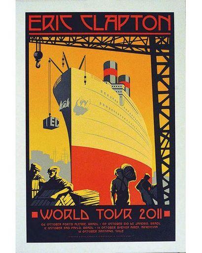 Eric Clapton World Tour  Numérotée N° 34/600 2011