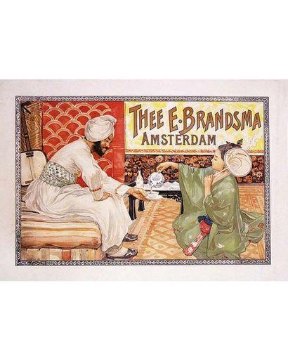 Thee E Brandsam. Amsterdam vers 1900